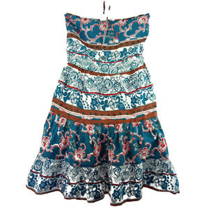 Angie Tops - ANGIE Boho A-Line Floral Tunic Top